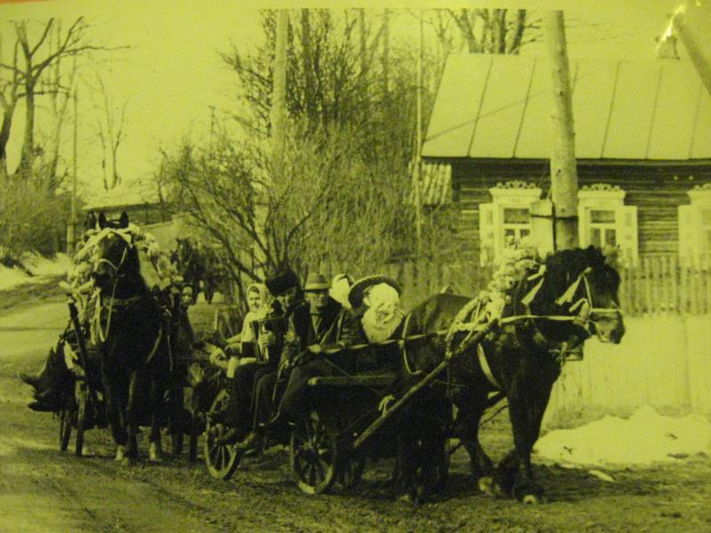 Гуляния в селе Тимоновичи. Фото О.Симоненко.