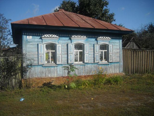 Дом Коренева Михаила в Медвёдовке. Фото Г.Тарнавского.
