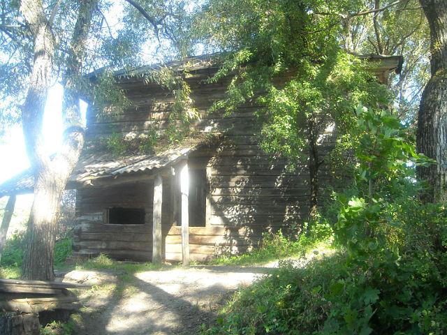 Остатки от бывшей мельницы в Медвёдовке. Фото Г.Тарнавского.