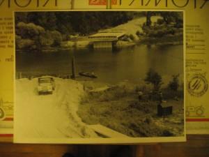 Строительство моста через реку Снов