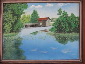 Водяная мельница на реке Снов