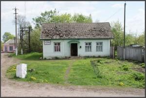 """Дом в котором жил Наполов Семен (""""Лохомон"""") теперь в нем магазин (фото Г.Тарнавского)"""